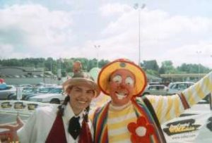 Raynbow the Clown at Trigs