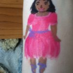 Arm painting - princess