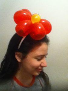 Head band balloon