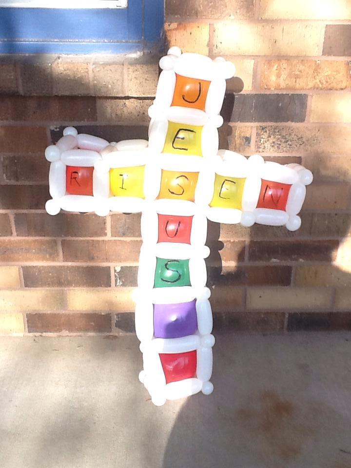 Jesus Risen - Easter Sunday balloon