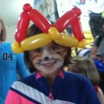 Simple crown for this young lady - Trudy painted her tiger face
