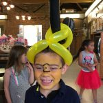 "True story - the young man wanted ""Minion Hair"" to go along with his face painting"